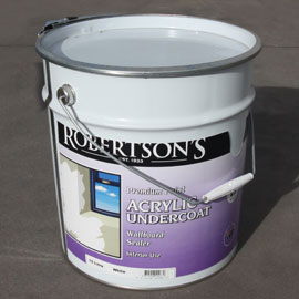 KIT HOME UNDERCOAT: Sufficient to undercoat all internal walls and ceilings