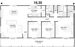 Met-Kit Homes - Steel Frame Budget Kit Homes - Mitchell 3