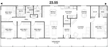 Met kit homes floor plans affordable budget kit homes for 5 bedroom home designs australia