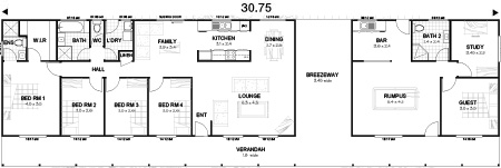 Met-Kit Homes - Steel Frame Budget Kit Homes - The Entertainer