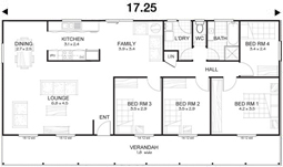 Met-Kit Homes - Steel Frame Budget Kit Homes - Springvale 3