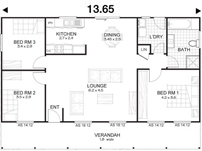 Met-Kit Homes - Steel Frame Budget Kit Homes - Hastings 3