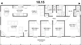 Met-Kit Homes - Steel Frame Budget Kit Homes - Flinders 4