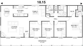 Met kit homes floor plans affordable budget kit homes for 4 bedroom kit home prices
