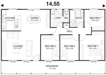 Met-Kit Homes - Steel Frame Budget Kit Homes - Mitchell 4